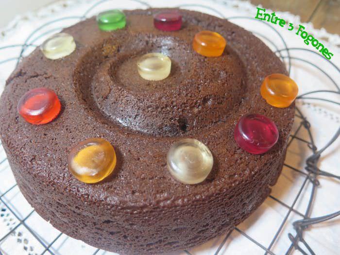 Receta Bundt Cake de Chocolate
