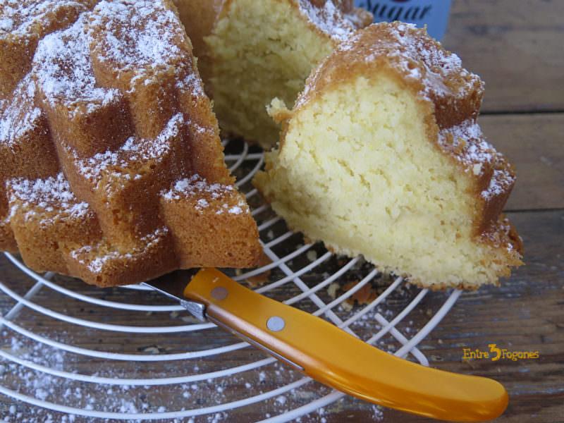 Receta Bundt Cake de Coco y Limón