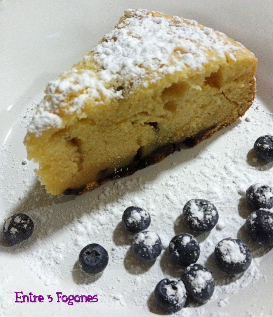 Receta Cake de Arándanos y Chocolate Blanco