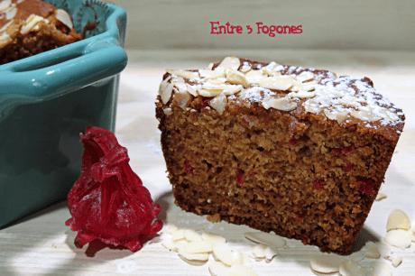 Cake de Flores de Hibisco y Almendras