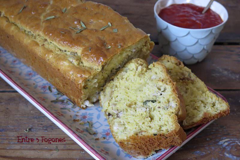 Receta Cake de Pollo al Estragón