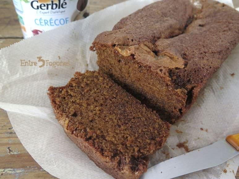 Receta Cake de Praliné y Achicoria