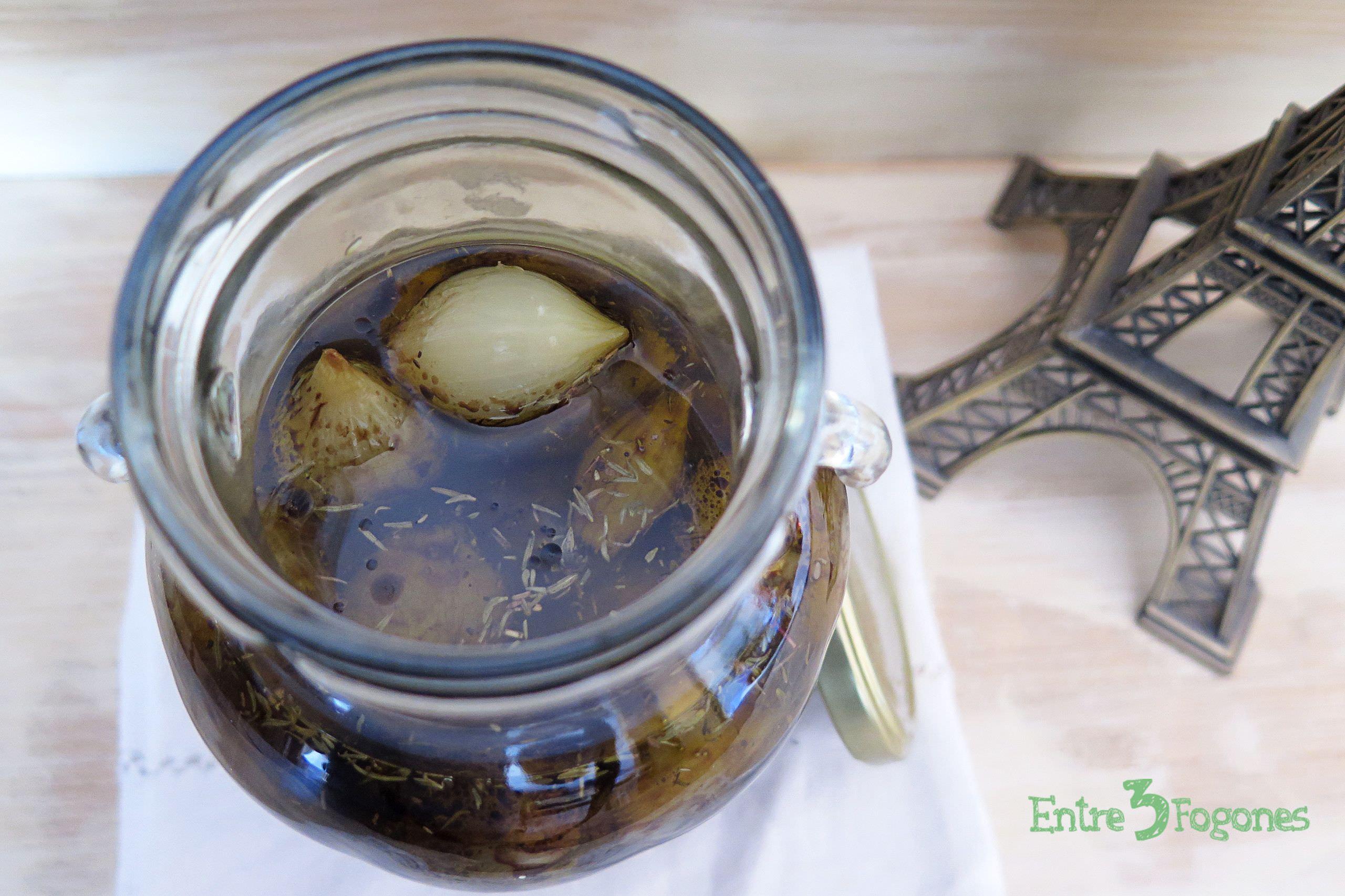 Receta Cebollitas en Vinagre de Módena