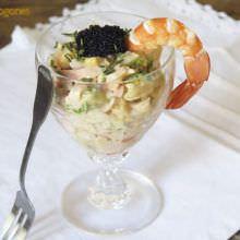 Receta Cocktail de Marisco con Salsa Rosa