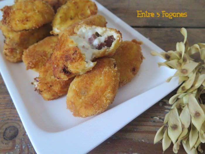 Ensalada de Batata y Patata con Atún en Escabeche