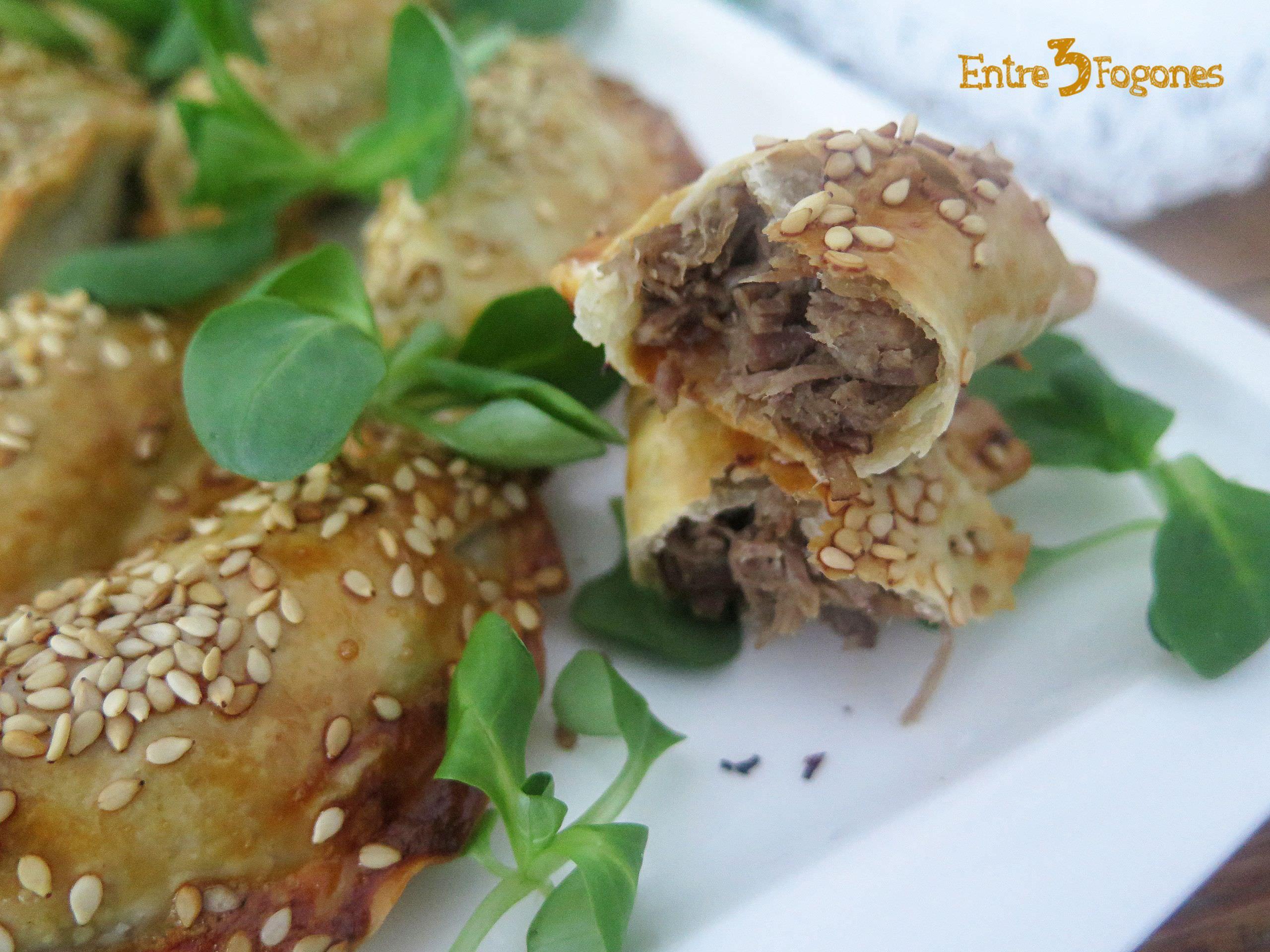 Receta Empanadillas de Roast Beef