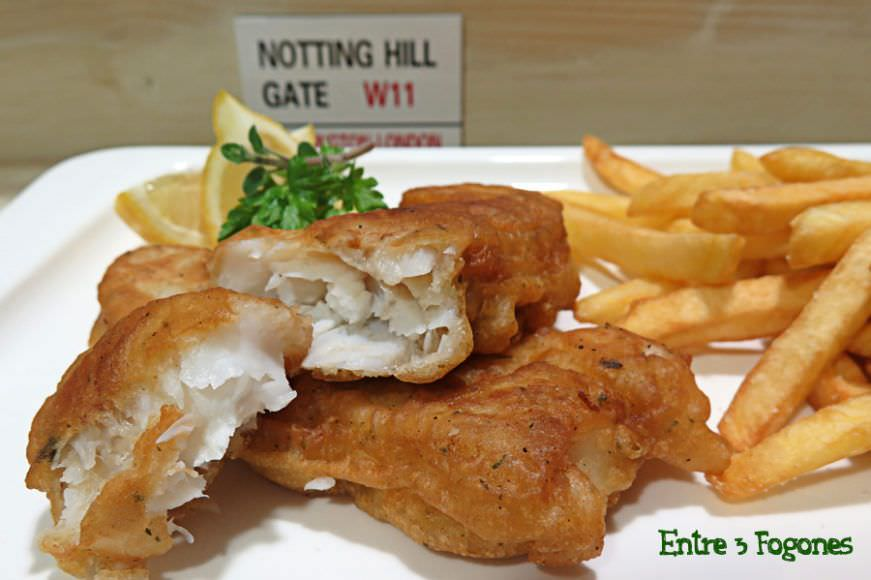 Receta Pasos Fish and Chips