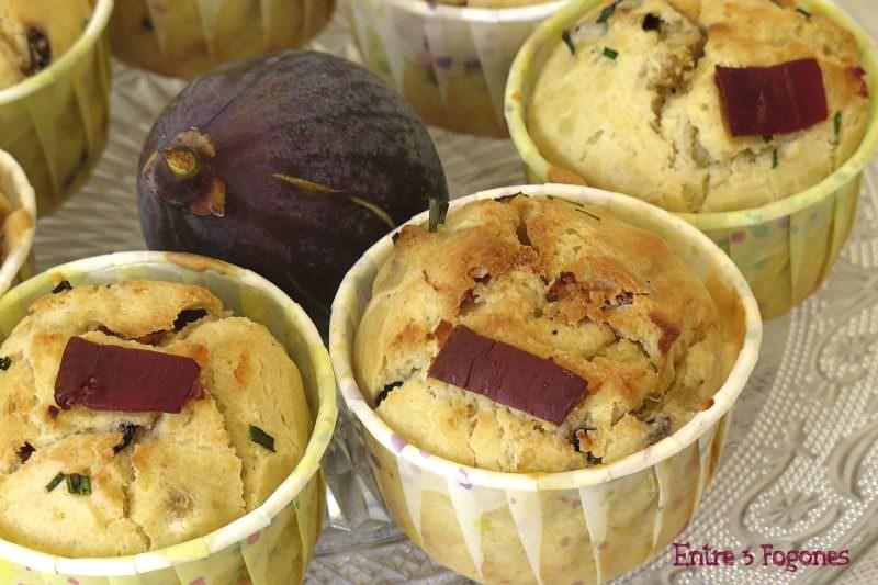 Receta Cakes de Higos con Jamón de Pato