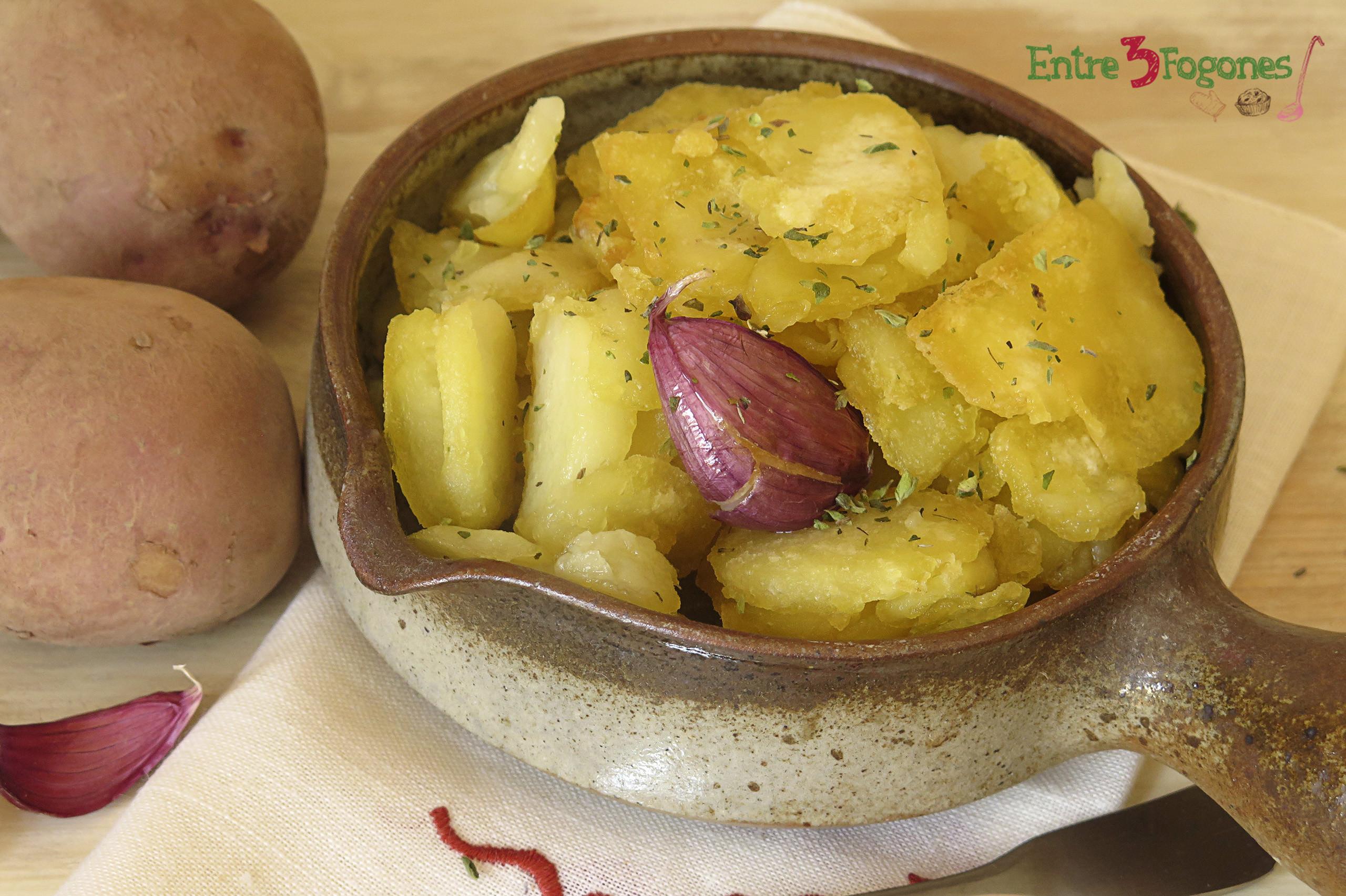 Receta Patatas al Montón