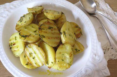 Receta Patatas al Vapor con Hierbas Aromáticas