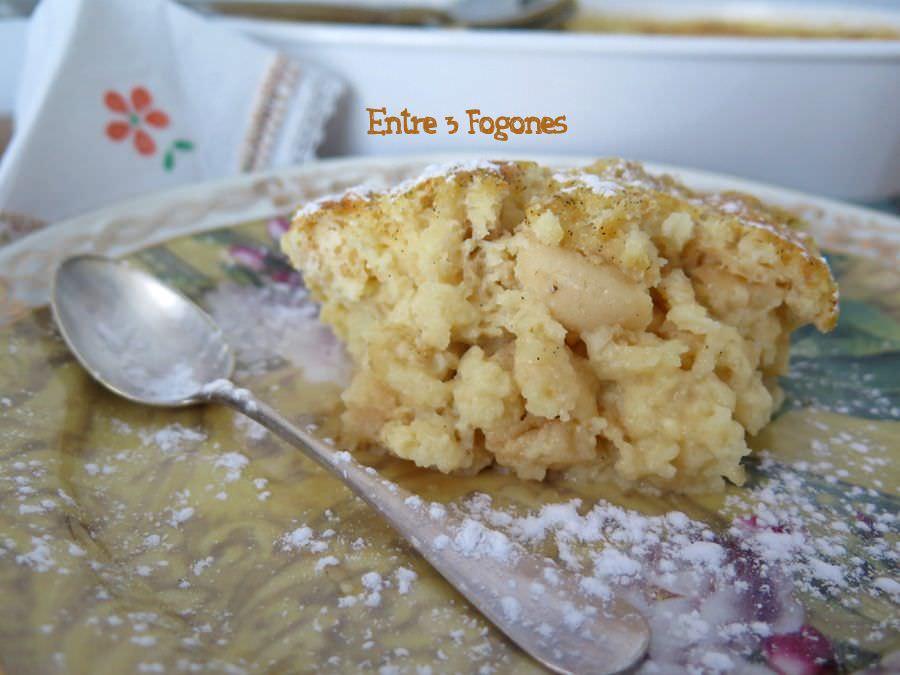 Receta Pudding de Pan a la Vainilla