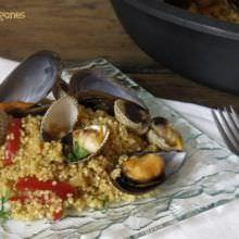 Risotto de Quinoa con Berberechos y Mejillones