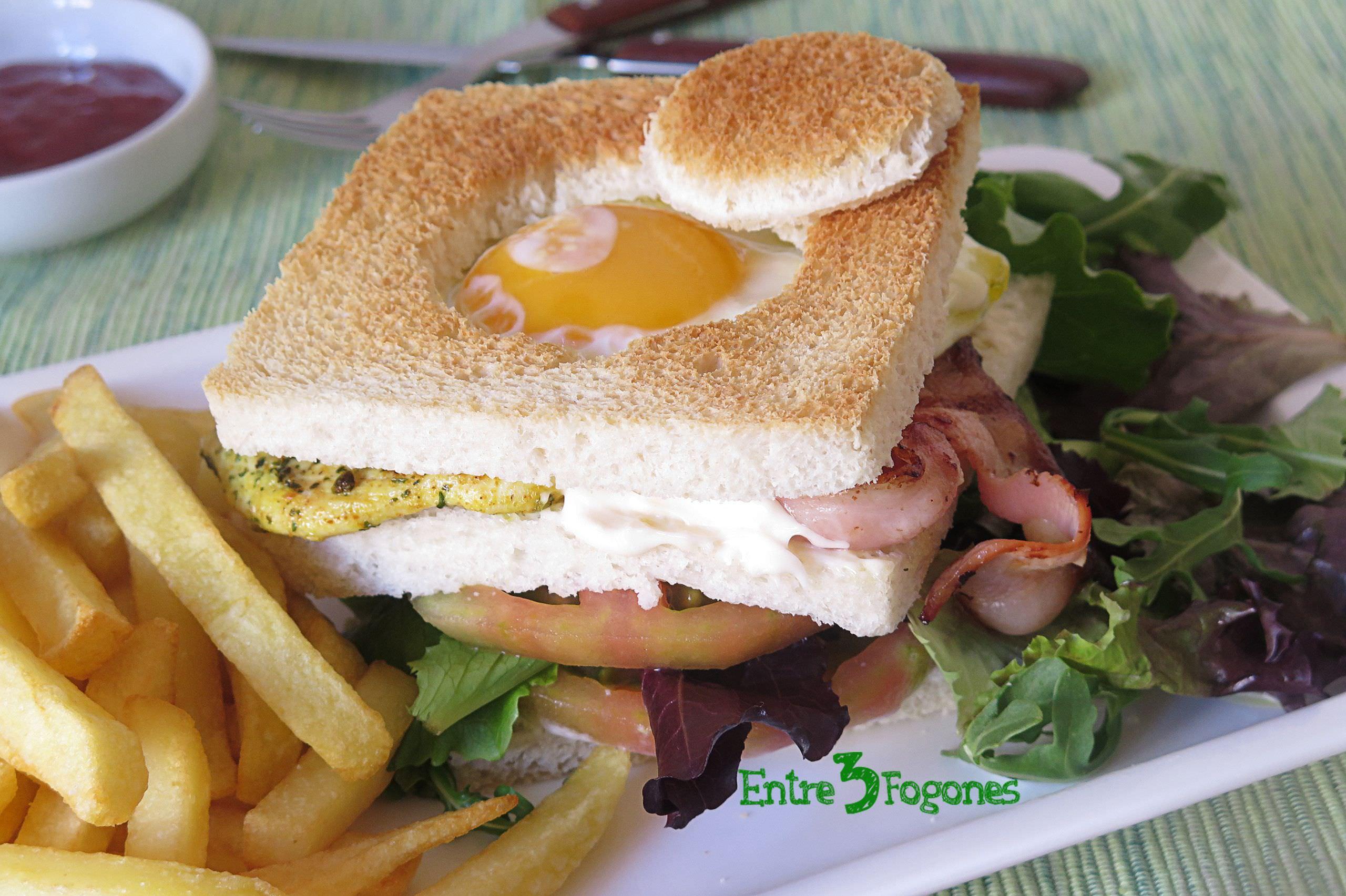 Receta Sándwich Especial Corty
