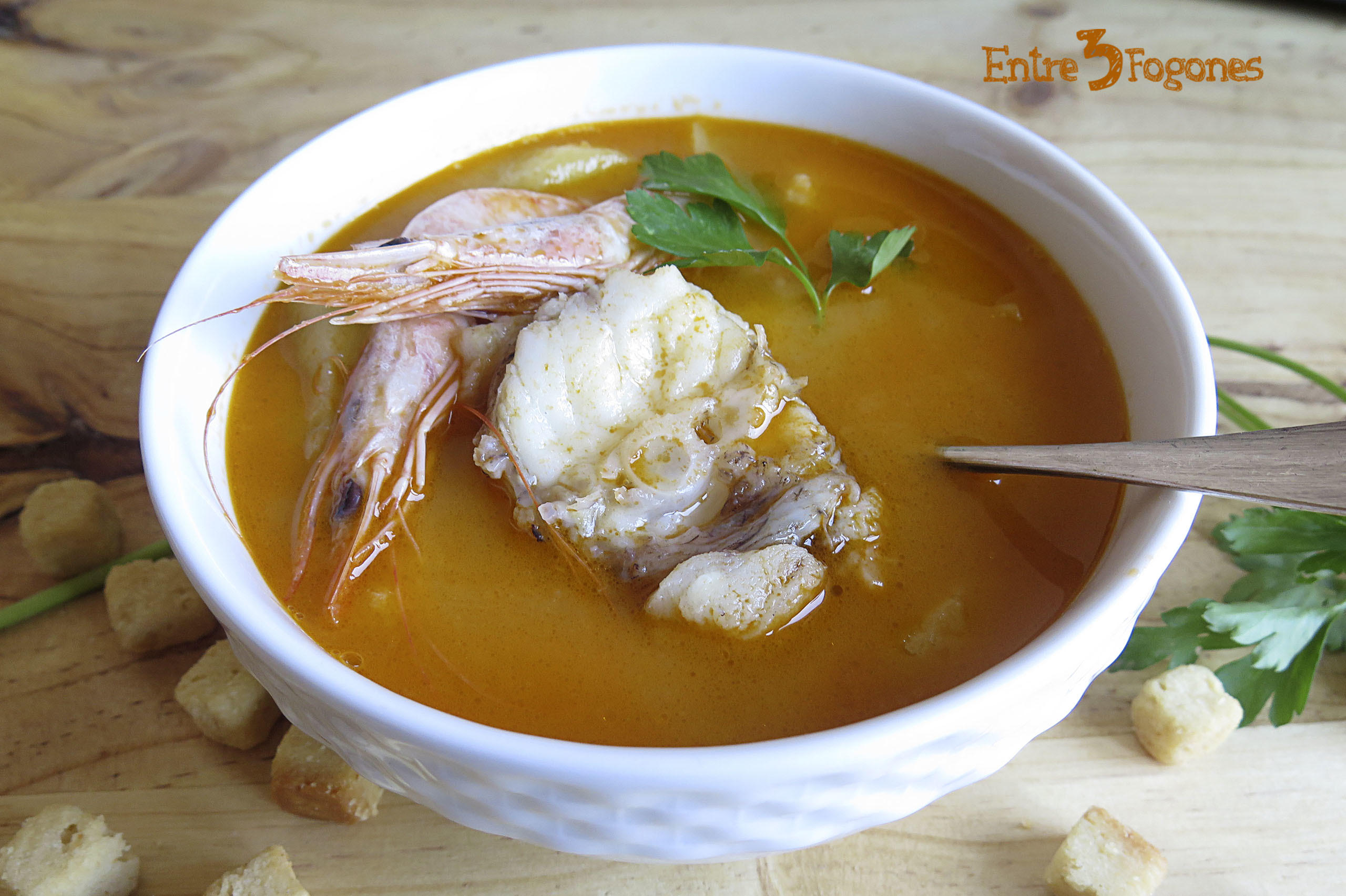 Receta Sopa de Pescado Provenzal