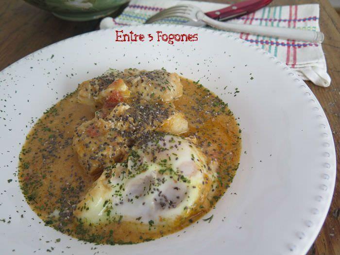 Receta Tajine de Merluza y Huevo con Semillas de Chía
