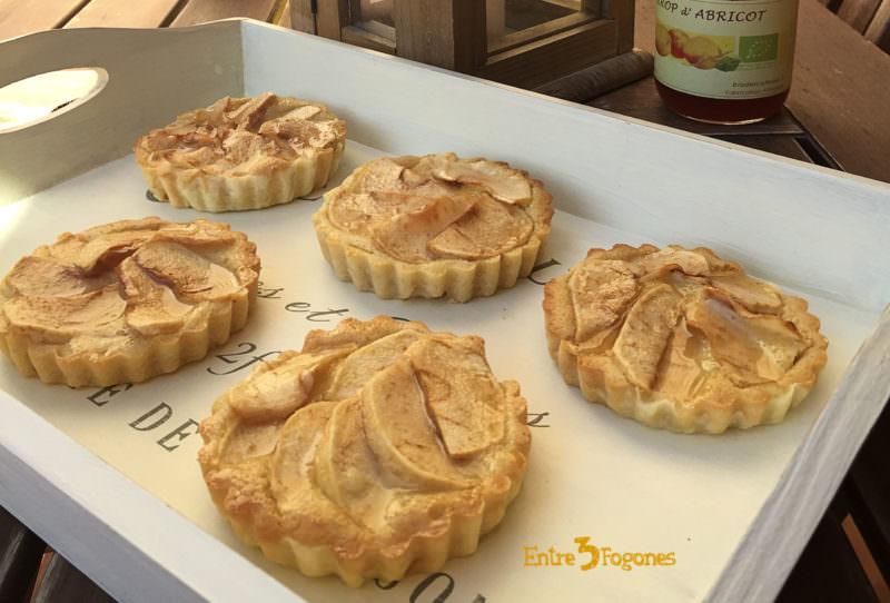 Receta Tartaletas de Manzana