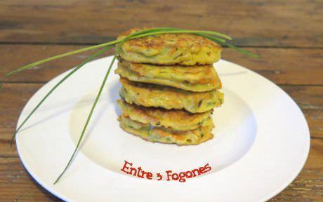 Receta Tortillitas de Calabacín y Zanahoria
