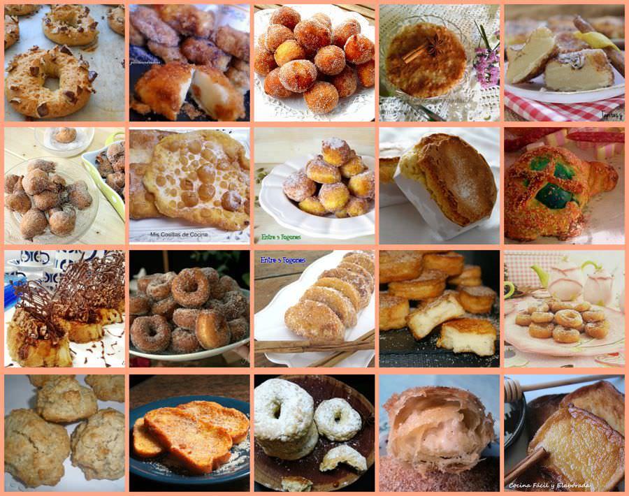 Recetas de Dulces Tradicionales Cuaresma y Semana Santa