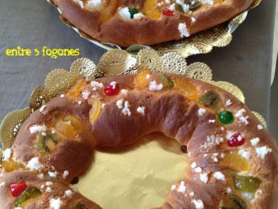 Roscón de Reyes fácil en Thermomix