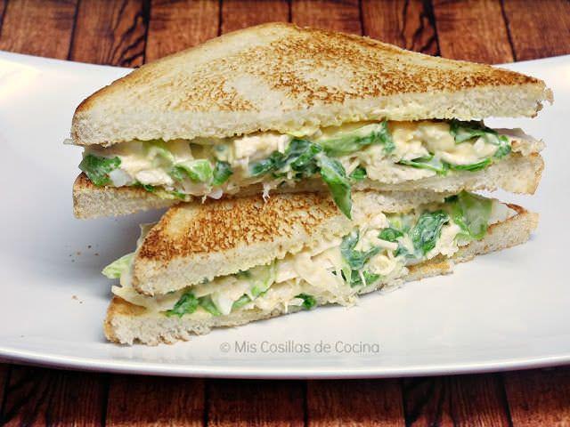 Sandwich de Pollo Frío