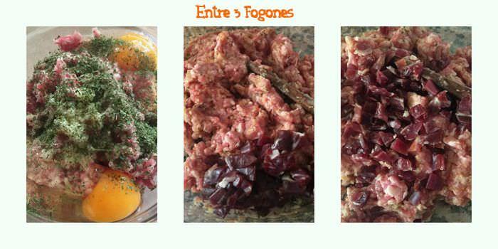 Pasos Cestos de Berenjena Rellenos de Carne