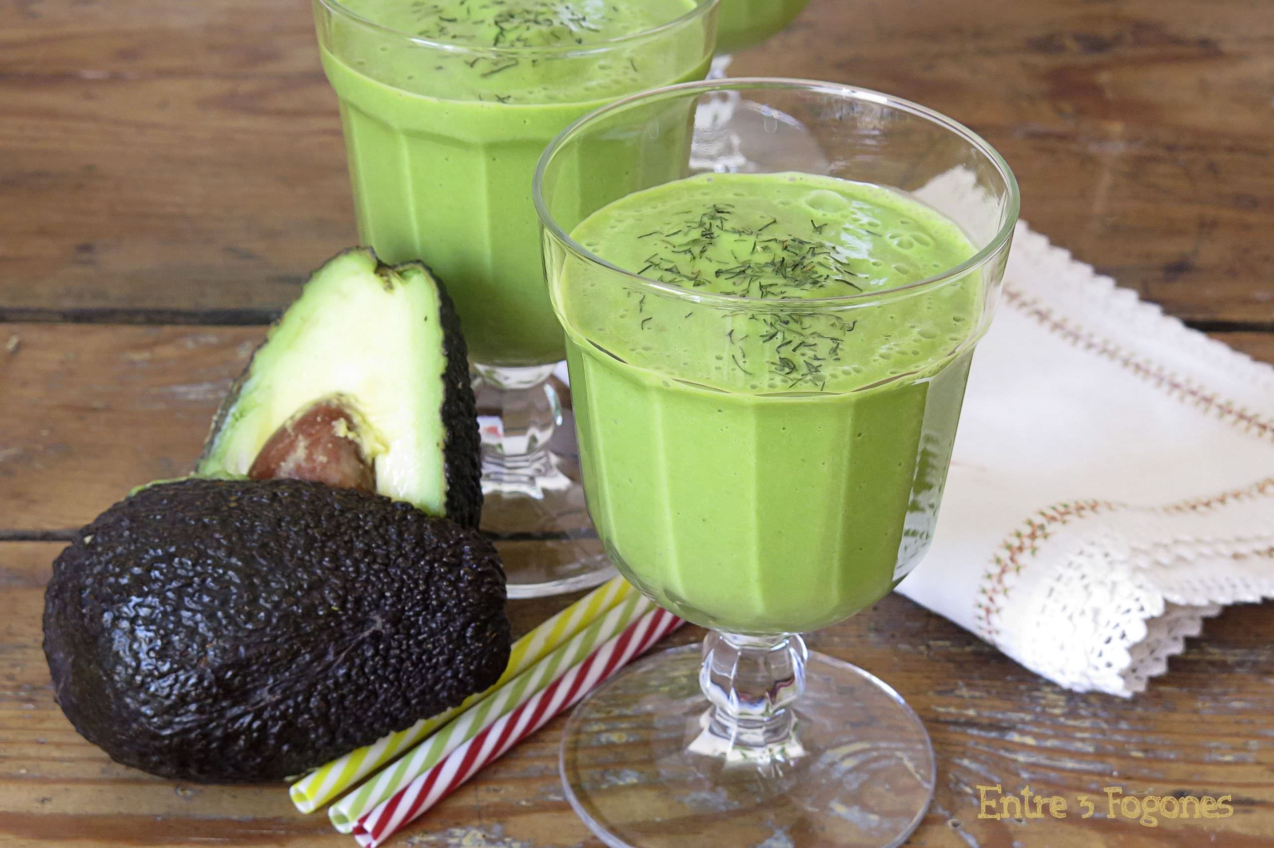 Photo of Smoothie de Aguacate con Agua de Coco y Miel