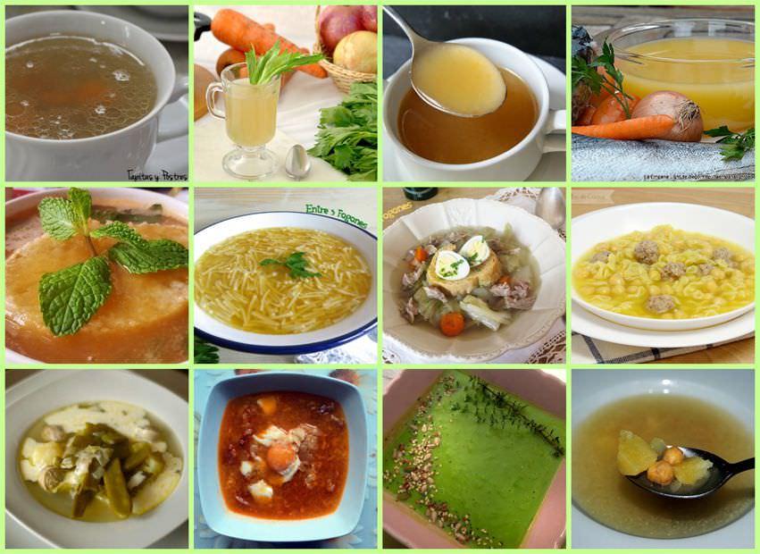 Photo of Recetas de Sopa y Caldos Caseros