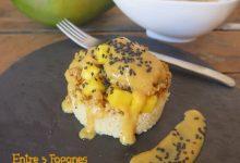 Photo of Timbal de Cuscús con Pollo y Ketchup de Mango