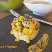 Cous-cous con Pollo y Ketchup de Mango