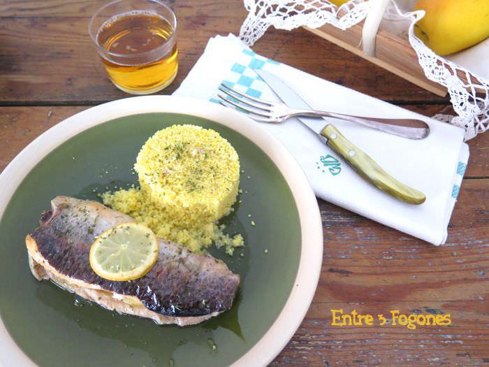 Trucha al Horno con Manzana y Mostaza